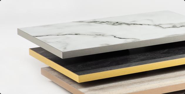 TLCA – laminated board with edge banding